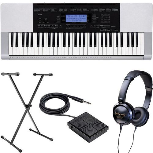 Casio CTK-4200 Portable Keyboard Basics B&H Kit