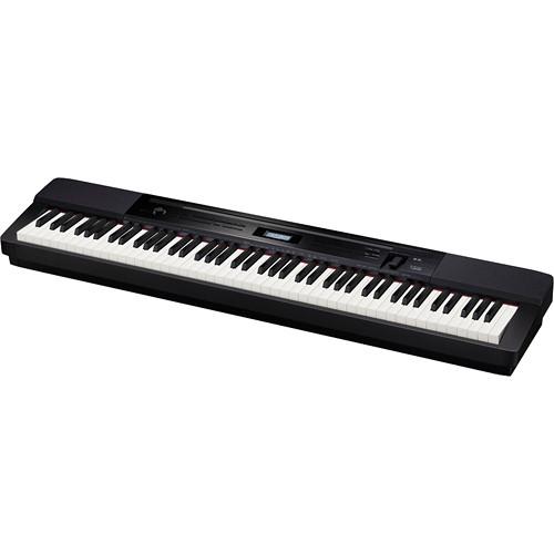 Casio PX-350 88-Key Piano Home Studio Bundle (Black)
