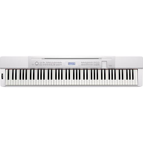 Casio PX-350 88-Key Piano Home Studio Bundle (White)