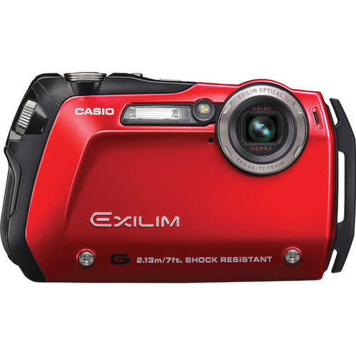 "Casio Exilim EX-G1 Digital Camera (Red) ""High Endurance Extreme Shooting Gear"""