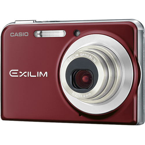 Casio EXILIM EX-S880 Digital Camera (Red)