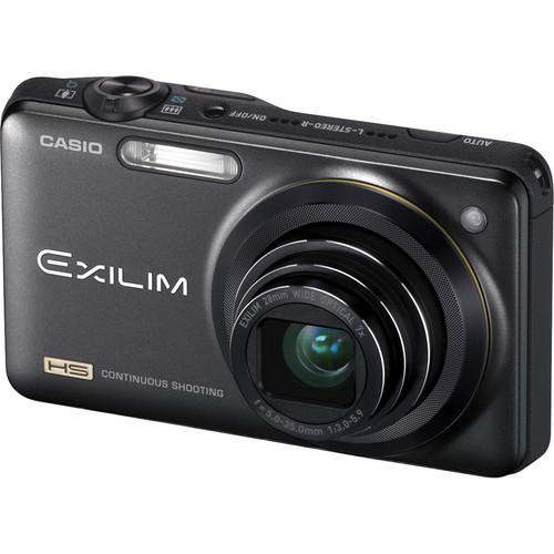 Casio EX-ZR10 Exilim Digital Camera (Black)