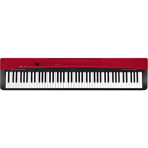 Casio Privia PX-130 88-Key Portable Digital Piano (Red)