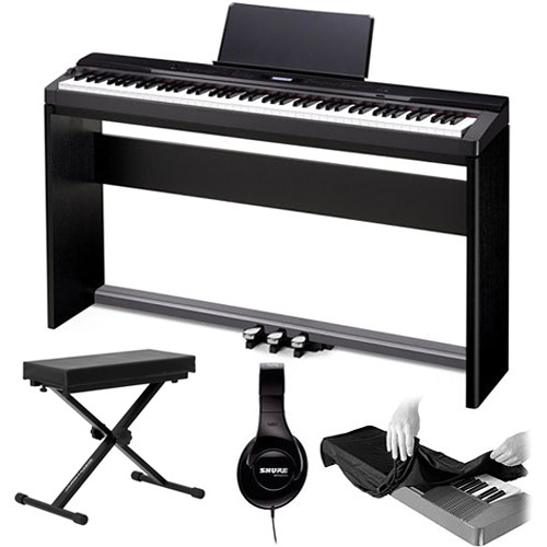 Casio Privia PX-330 88-Key Digital Piano Value Bundle