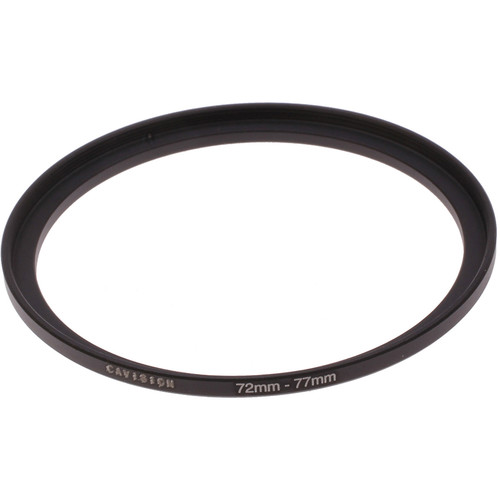 Cavision 72 to 77mm Threaded Step-Up Ring