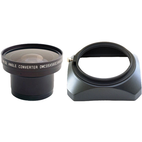Cavision DWC05X58H 58mm 0.5x Wide Angle Zoom Through Converter Lens Kit