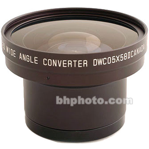 Cavision DWC05X58P 58mm 0.5x Wide Angle Zoom Through Converter Lens Kit