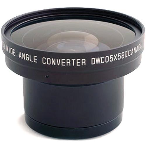 Cavision DWC05X58 58mm 0.5x Wide-Angle Zoom-Through Converter Lens