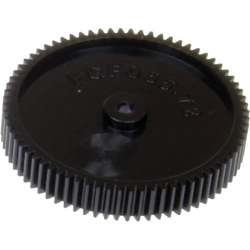 Cavision Large Fujinon Lens Gear for Cavision Follow Focus Systems (0.6, 72 Teeth)