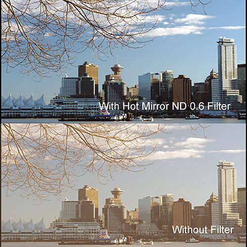"""Cavision 3 x 3"""" Hot Mirror Neutral Density 0.6 Filter"""
