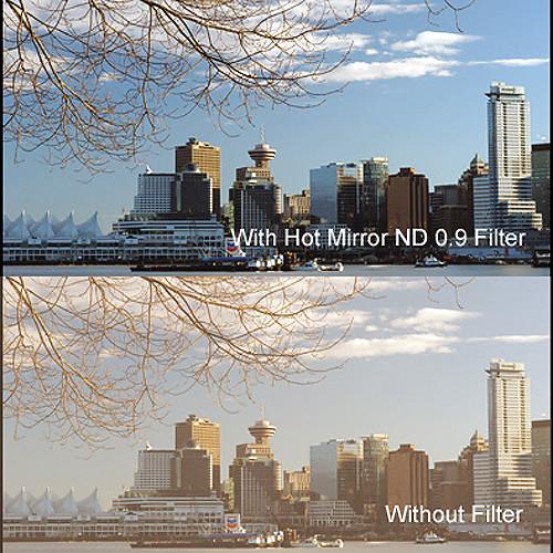 """Cavision 4 x 4"""" Hot Mirror Neutral Density 0.9 Filter"""