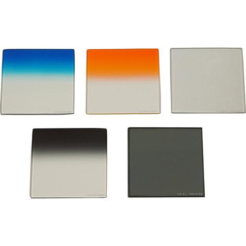 "Cavision 4 x 4"" Glass 5-Filter Set"