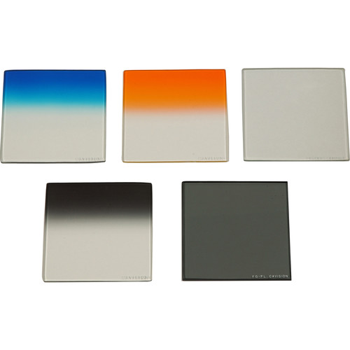 "Cavision 4 x 4"" Glass 5-Filter Set"