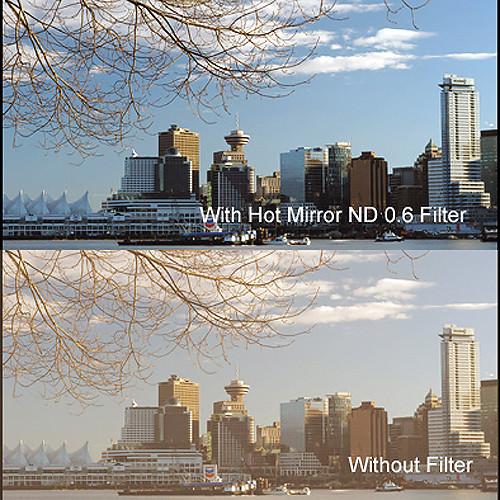 """Cavision 4 x 5.65"""" Hot Mirror Neutral Density 0.6 Filter"""