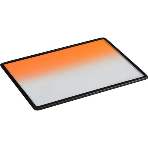 "Cavision 4 x 5.65"" Soft-Edge Graduated Orange 0.3 Filter (1-Stop)"