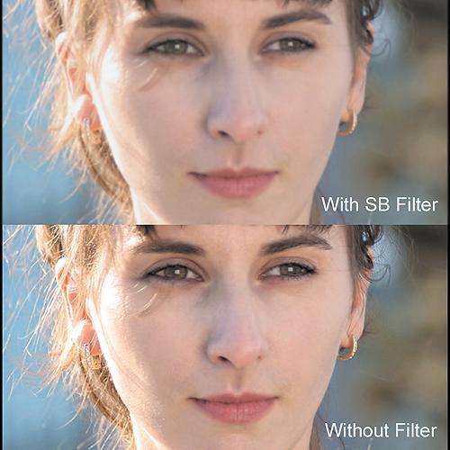 "Cavision 4 x 5.65"" Soft Mist Black 1/4 Filter"