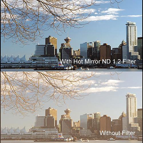 """Cavision 5.65 x 5.65"""" Hot Mirror Neutral Density 1.2 Filter"""