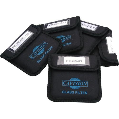 "Cavision 5.65 x 5.65"" Glass 5-Filter Set"