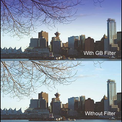 "Cavision 6 x 6"" Soft-Edge Graduated Blue 0.3 Filter (1-Stop)"