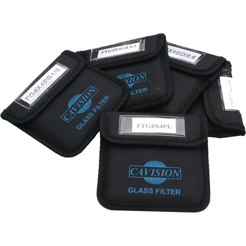 "Cavision 6 x 6"" Glass 5-Filter Set"
