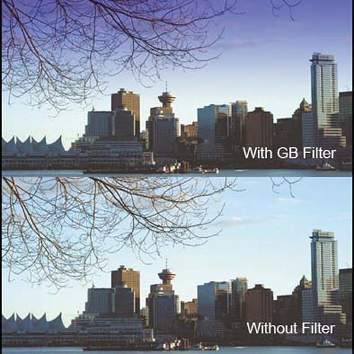 "Cavision 6 x 6"" Soft-Edge Graduated Blue 0.6 Filter (2-Stop)"