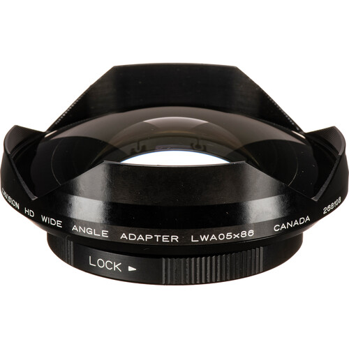 Cavision LWA05X86 0.5x Industrial Wide Angle Adapter Lens - 85/86mm Clamp-On