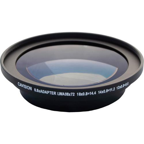Cavision LWA08X72 0.8x Wide-Angle Adapter 72mm