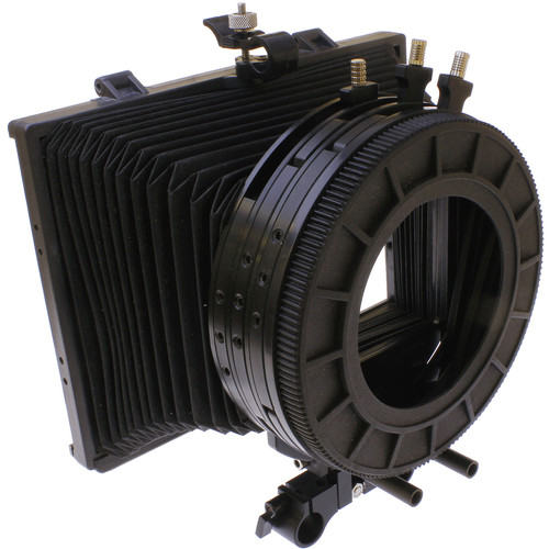 Cavision MB413B-3 4x4 Bellows Matte Box - 3 Filter Stages, 2 Rotating