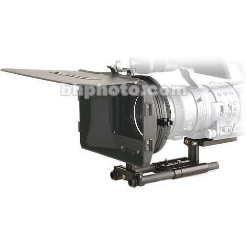 Cavision 4x5.65 Wide Hard Shade Matte Box Kit - for Panasonic HVX-200 Camcorder
