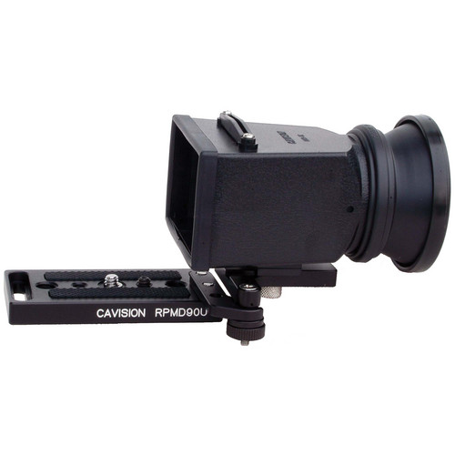 Cavision LCD Viewfinder Set with SA Connection Piece and Plate for DSLR