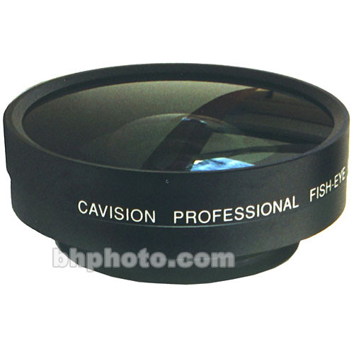 Cavision PFA03X72C 0.25x Fish-Eye Lens Attachment