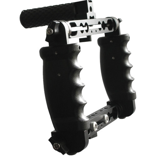 Cavision Triple Handgrip Cage With Dual Rods Brackets (19 cm Vertical Spacing)