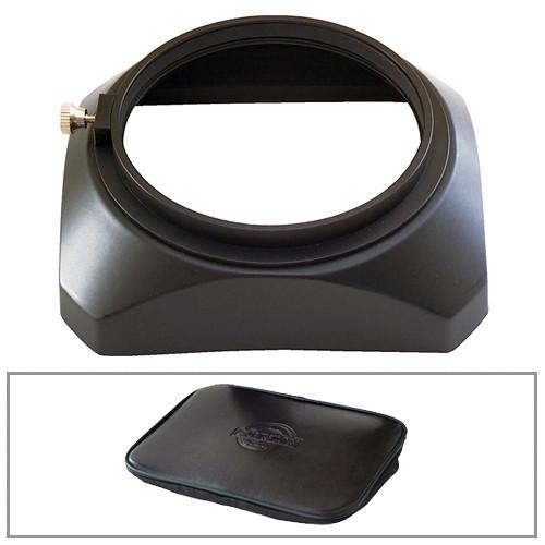Cavision LH100P Lens Hood & Soft Lens Cap Kit