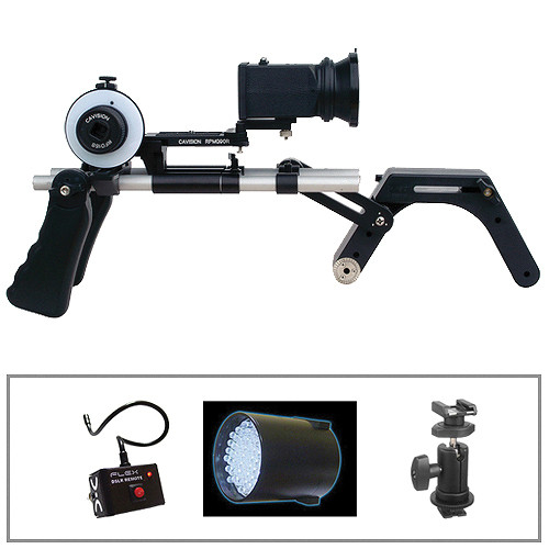 Cavision Shoulder Mount DSLR Follow Focus & Remote Kit