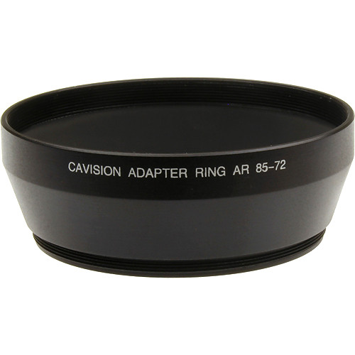 Cavision 72mm Conical Step-up Ring with 85mm Outside Diameter
