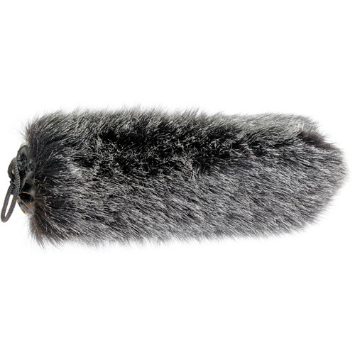 "Cavision Slide-on Windcover for 19mm Diameter Mic - 9"" Long (Dark Gray)"