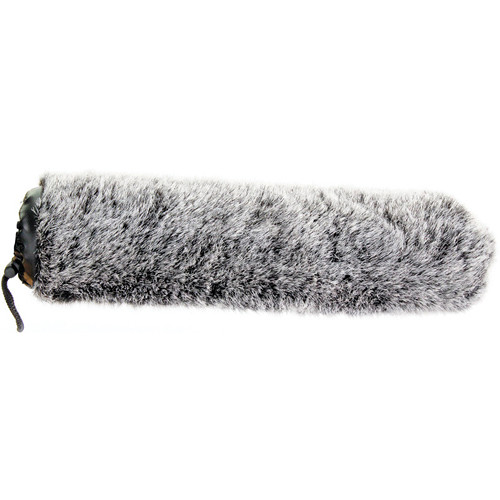 "Cavision Slide-on Windcover for 21mm Diameter Mic - 11"" Long (Dark Gray)"