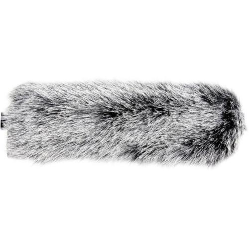"""Cavision Slide-on Windcover for 25mm Diameter Mic - 10"""" Long (Dark Gray)"""
