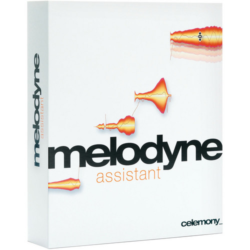 Celemony Melodyne assistant - Monophonic Pitch Shifting/Time Stretching Software