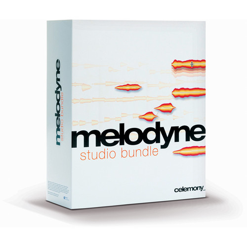 Celemony Melodyne3 studio bundle - Pitch Shifting and Time Stretching Software