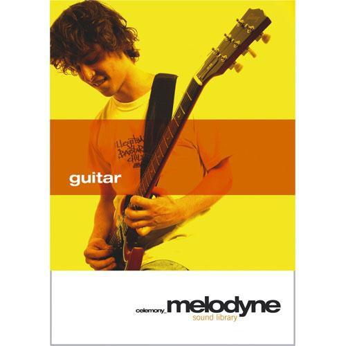 Celemony Melodyne Sound Library guitar