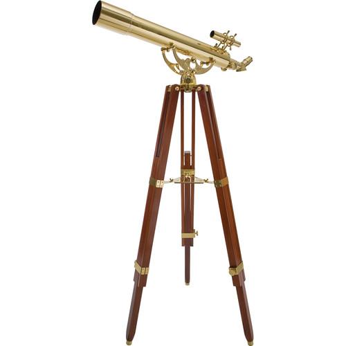 "Celestron Ambassador 80 AZ 3.1""/80mm Brass Refractor Telescope Kit"