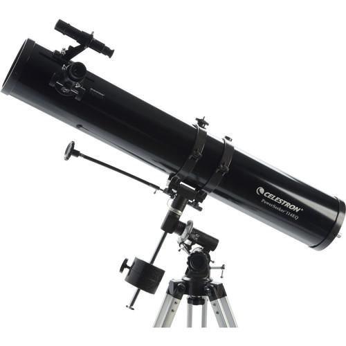 """Celestron PowerSeeker 114 EQ 4.5""""/114mm Reflector Telescope Kit"""