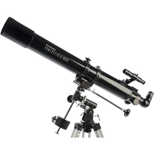 """Celestron Powerseeker-80 EQ 3.1""""/80mm Refractor Telescope Kit"""