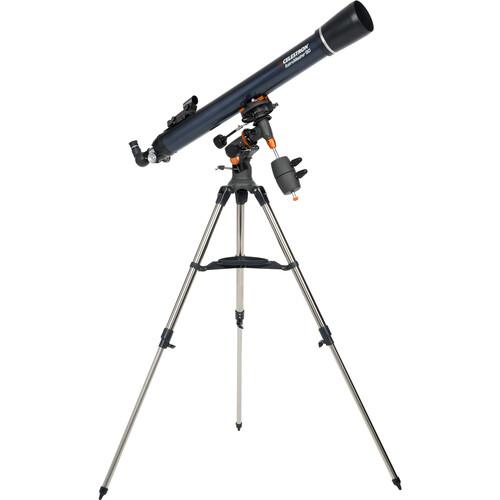 "Celestron AstroMaster-90 EQ 90mm 3.5""/90mm Refractor Telescope Kit"