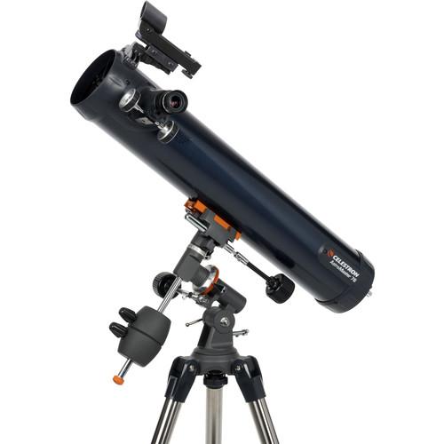 Celestron AstroMaster 76EQ 76mm f/9 Reflector Telescope