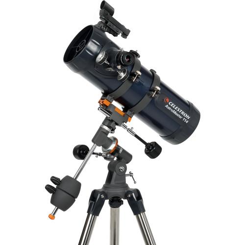Celestron AstroMaster 114EQ 114mm f/9 Reflector Telescope