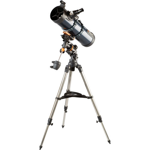 "Celestron AstroMaster 130 EQ MD 5.1""/130mm Reflector Telescope Kit"