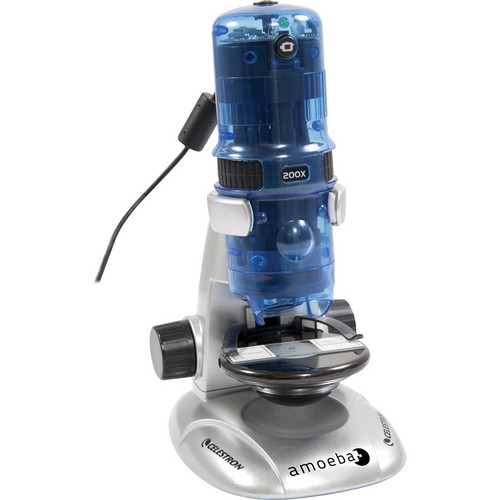 Celestron Amoeba Dual Purpose Digital Microscope (Blue)