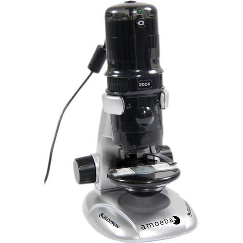 Celestron Amoeba Dual Purpose Digital Microscope (Gray)